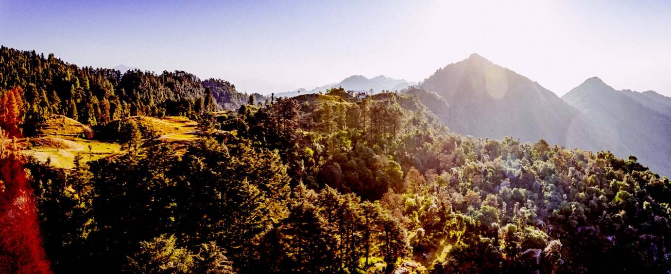 Mosaic Hotel Mussoorie - Mussoorie City View From Hotel
